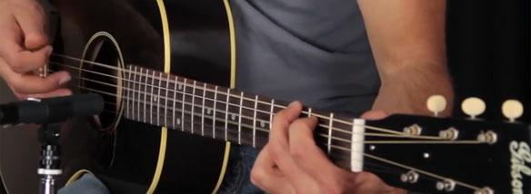 Výběr akustické kytary