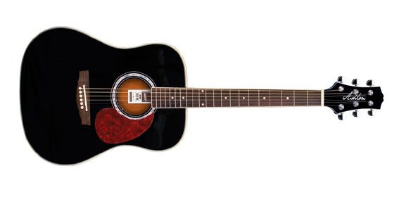 Akustická kytara typu dreadnought Ashton D 24