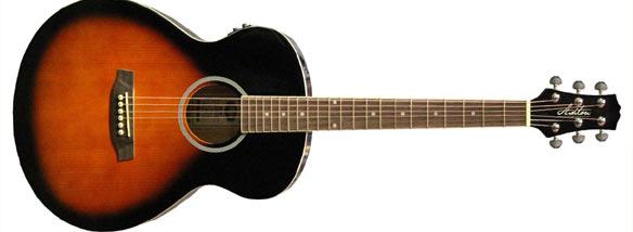 Akustická kytara slim Ashton SL20EQ TSB