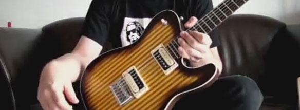 Elektrická kytara Bamboocaster
