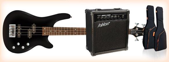 Baskytarový paket Ashton AB 4