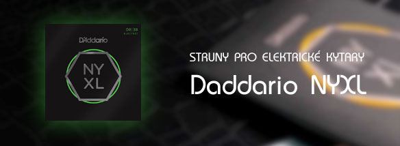 Struny pro elektrické kytary D'Addario NYXL