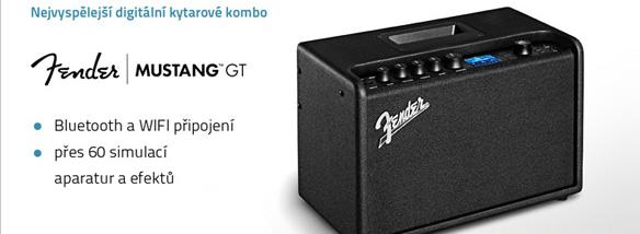 Nejvyspělejší kytarové kombo Fender Mustang GT 40