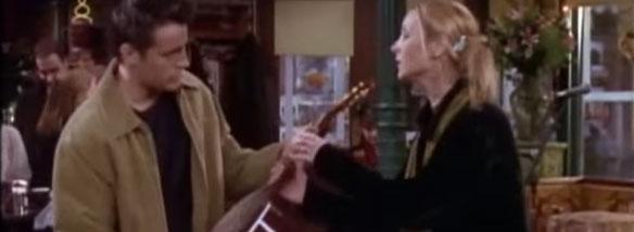 Kytarová škola Phoebe Buffay