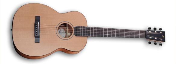 Cestovní kytara Little Jane s novým uchycením krku