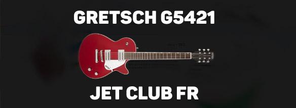 Elektrická kytara Gretsch G5421 Jet Club FR