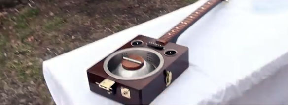 """Originální """"homegade"""" kytara"""