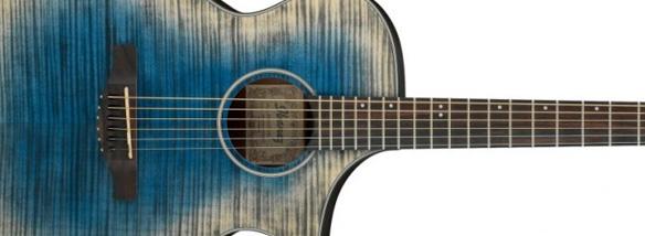 Elektroakustická kytara Ibanez AEWC32FM GBL