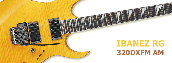 Elektrická kytara Ibanez RG 320DXFM AM
