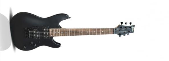 Elektrická kytara Ashton JOEY Backstage BKM Mini