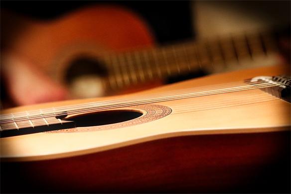 Kytara k Vánocům