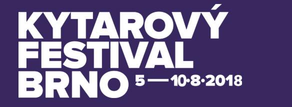 Kytarový festival Brno 2018