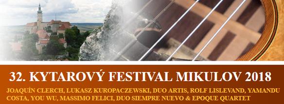 Kytarový festival Mikulov 2018