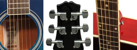 Akustické kytary Ashton skladem