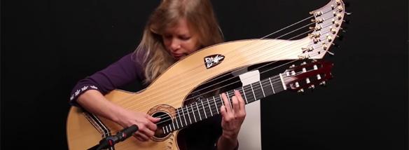 Harfová kytara