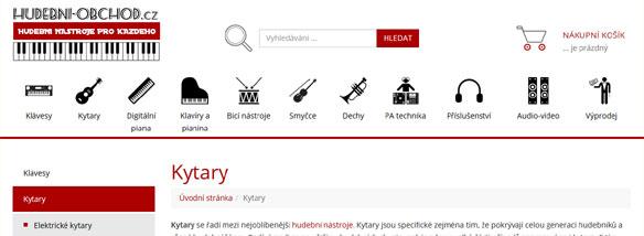 Hudebni-obchod.cz představil nový kabát