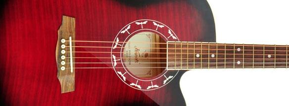 Akustická kytara Pecka SLP-20C
