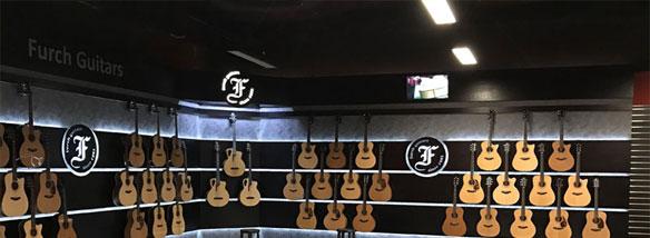 Firemní prodejna Furch Guitars