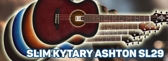 Výprodej slim kytar Ashton SL29
