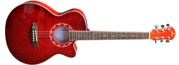 Akustická Slim kytara Pecka SLP-19C