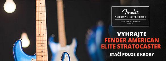 Soutěž o kytaru Fender American Elite Stratocaster