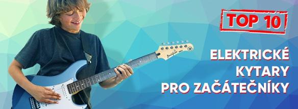 TOP10 elektrických kytar pro začátečníky