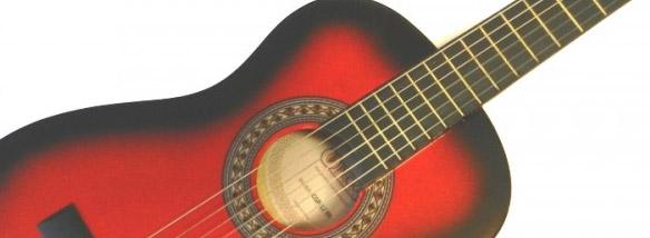 Cenově dostupné kytary pro děti