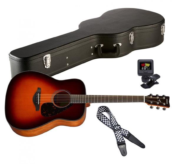 Western kytara Yamaha FG 800S - výhodný set